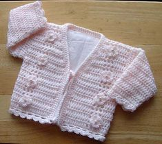 Ravelry: Babies/Childs CardiganPatt No.173 pattern by Kay Jones
