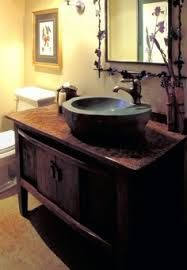 rustic vanity bowls - Google Search