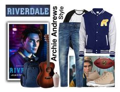 """""""Archie Andrews RIVERDALE style"""" by natasag ❤ liked on Polyvore featuring Gap, Scotch & Soda, Betty & Veronica, Victorinox Swiss Army, Converse, men's fashion and menswear"""