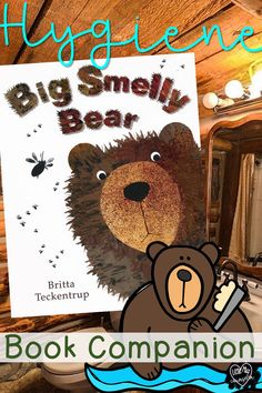 Big Smelly Bear: Hygiene Bundle for Early Childhood This hygiene bundle fits a variety of hygiene topics from picking a booger to wiping your bottom properly all in one place! Hygiene PowerPoint, puzzles, and poster. School Counselor Lessons, Elementary School Counselor, School Counseling, Elementary Schools, Counseling Activities, Social Emotional Development, Social Emotional Learning, Hygiene Lessons, Teaching Social Skills