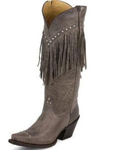 Ladies Fringe Western Cowgirl Boots - www.cowboywaywesternstore.com