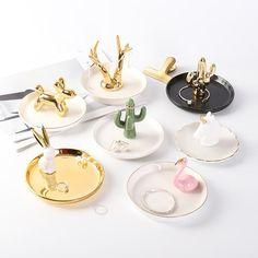 , Custom Ring Trinket Tray Ceramic Jewelry Dish As Wedding Gift For Guest - Buy Ce. , Custom Ring Trinket Tray Ceramic Jewelry Dish As Wedding Gift For Guest - Buy Ceramic Jewelry Tray,Wedding Gift Ring Trinket Tray,Jewelry Display Tray. Jewelry Dish, Jewellery Storage, Jewellery Display, Diy Jewelry Tray, Jewelry Design, Diy Jewellery, Jewelry Ideas, Porcelain Jewelry, Ceramic Jewelry