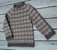 Faroe Island Blossom Sweater & Hat pattern