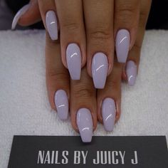 Coffin shape nails