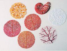 Artista usa máquina de costura para fazer incríveis bordados inspirados na natureza