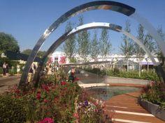 Positively Stoke-on-Trent garden at Chelsea Flower Show #stokeculture #chelseaflowershow #RHSChelsea