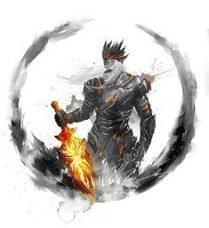 Elder Prince Lorian Art Print by Shimhaq - X-Small Sif Dark Souls, Arte Dark Souls, Dark Souls All Bosses, Dark Fantasy Art, Dark Art, Soul Saga, Soul Tattoo, Bild Tattoos, Medieval Fantasy