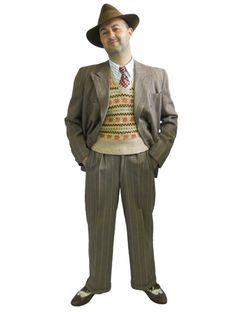 1940 Costumes for Men | 1940s Man