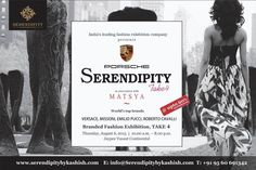 Buy world top brands at upto 60% discounts only at #Serendipity #Take4 on 6th August at Vasant Continental, New Delhi.  https://www.facebook.com/events/741003682676273/