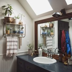 Bathroom beauties | Moon to Moon: The Seattle Home of Michele and Ryan