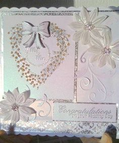 Wedding card using Chloe stamps.