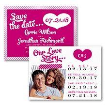 photo save the date #pinkwedding