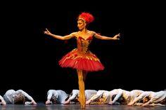 Mara Galeazzi as the Firebird.  Royal Ballet.  Photo: © Alice Pennefather / ROH