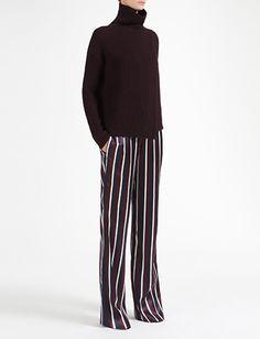 stripe trousers