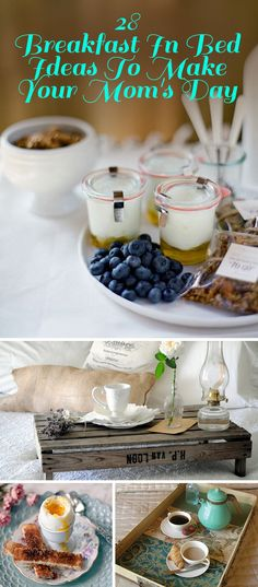 28 Breakfast In Bed Ideas To Make Your Mom's Day