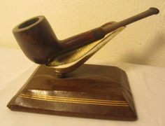 Vintage Straight Lovat Billiard Style Estate Briar Tobacco Smoking Pipe NICE