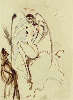 madivinecomedie:  Salvador Dali  Salvador Dali. La divine comédie. Le paradis  View Post