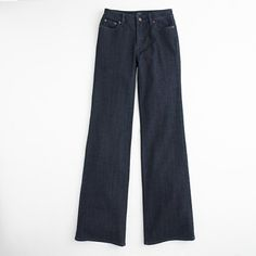J.Crew Factory high waisted trouser jeans. So slimming and great price! $39.50.