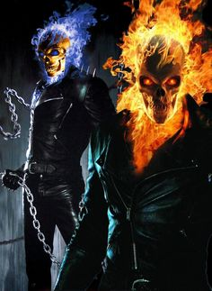 I really love Ghost Rider so I wanted to create my own interpretation of it! Ghost Rider is copyright of MARVEL Comics (www. Ghost Rider 2, Ghost Rider Johnny Blaze, Ghost Rider Marvel, Ghost Ghost, Ghost Rider Wallpaper, Skull Wallpaper, Marvel Comics Art, Marvel Heroes, Ms Marvel