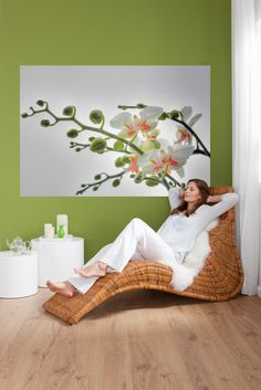 Blühende Orchideen sorgen für pure Entspannung. / 1-608 Orchidee