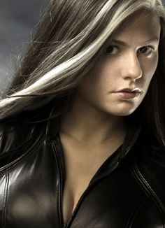 Anna Paquin as Marie/Rogue in the X-Men Trilogy