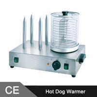 Hot Dog Warmer Machine/Hot Dog Roller and Bun Warmer/Hot Dog Steamer/Hot Dog Grill