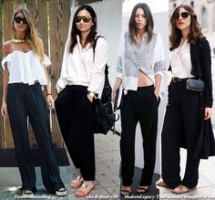 How to Wear Trousers and Sandals