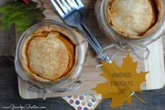 Semi-Homemade Pumpkin Pie Jars