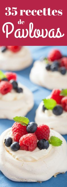 meringue cake: pavlova meringue cake with cream and berry Stock Photo Baked Meringue, Meringue Cake, Mini Desserts, Dessert Recipes, Mini Pavlova, Cake Stock, Mousse Dessert, Boston Cream Pie, Cake Factory