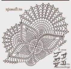 Chic free crochet chart patterns crochet art: crochet doilies - free crochet pattern - oval lace doilies QCODTHK - Crochet and Knit - saksi Crochet Tablecloth Pattern, Free Crochet Doily Patterns, Crochet Doily Diagram, Crochet Mandala, Crochet Art, Crochet Home, Thread Crochet, Filet Crochet, Crochet Motif