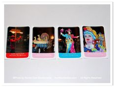 Mardi Gras Stickers New Orleans by theRDBcollection, $2.00 for set