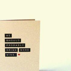 cute card for friends.