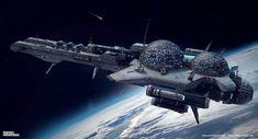 ArtStation - Parsec Frontiers - The Hawking, DARKO DARMAR MARKOVIC