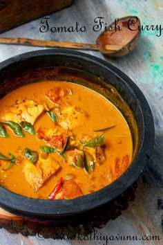 Hello everyone, Hope you all had a good weekend and started your week with full of energy.:) Have you ever triedFish Tomato Curry? If not here is recipe for you to try… One of the most common recipe which mom makes several times a week is fish curry and we all in our family love… Read More Fish Tomato Curry Recipe – Thakkali Meen Curry Recipe – Kerala Fish Curry with Tomato