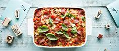 Pizzetti yhdistää kaksi koko perheen lempiruokaa, pizzan ja spagetin. Vuokaruoka valmistuu helposti tähteeksi jääneestä spagetista. Noin 1,55€/annos.