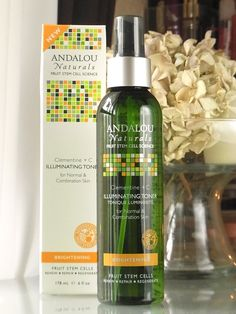 Vitacost☆Andalou Naturals Illuminating Toner |Have an aromatic life!
