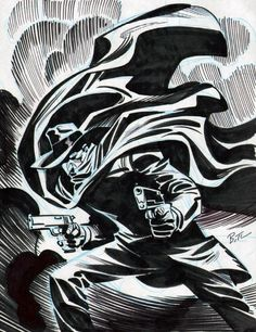 The Shadow - Bruce Timm