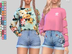 Pinkzombiecupcakes' Athletic Sweatshirts 056(mesh required)