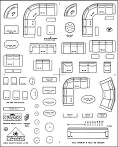 Free printable furniture templates furniture template for Furniture placement templates free