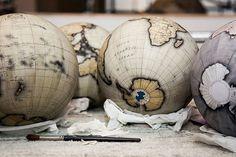 handmade globes by Bellerby & Co