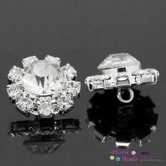 """Дешевое Швейные металлические кнопки посеребренные W / ясно горный хрусталь 14 x 14 мм, 5 шт. ( B27718 ) 8 года, Купить Качество Пуговицы непосредственно из китайских фирмах-поставщиках: Stainless Steel Needle Nose Pliers Jewelry Making Hand Tool Black 12.5cm(4 7/8""""),1 Piece (B33699) 8yearsUS $ 2.36/pieceB"""