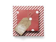 Sugar Paper holiday wrapping