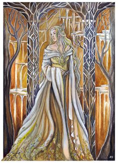 Queen of Mirkwood- Despite never once being mentioned we know she must have existed because Legolas is alive.