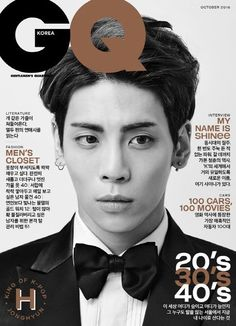 160913 #Jonghyun  #SHInee - GQ Korea October 2016 Issue