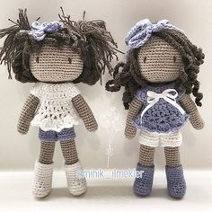 Tüm iyi dostlara günaydın  good morning #amigurumi #little #girl #gift…
