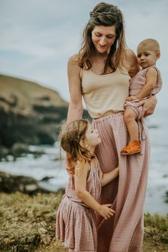 Numero 74 Mum & Girls collection in dusty Pink