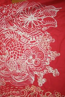 Doodle on a T-Shirt with a Bleach Pen :: Good tips (from Vitamin C... A Daily Dose of Creativity)