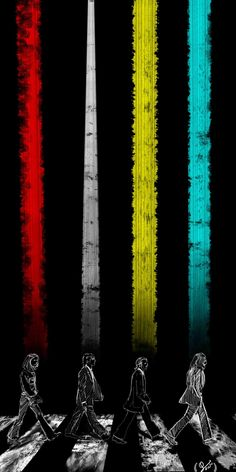 Color RD. by ~dragoonpady. Beatles abstract art.