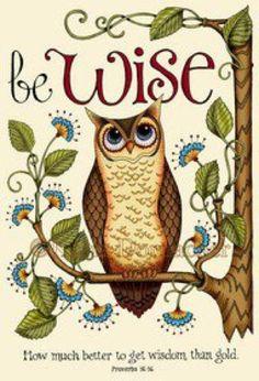 'Be Wise Owl' by Karla Dornacher