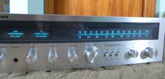 Vintage Fisher MC-2500 AM FM Stereo Receiver  #Fisher